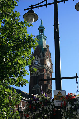 March Clock Tower
